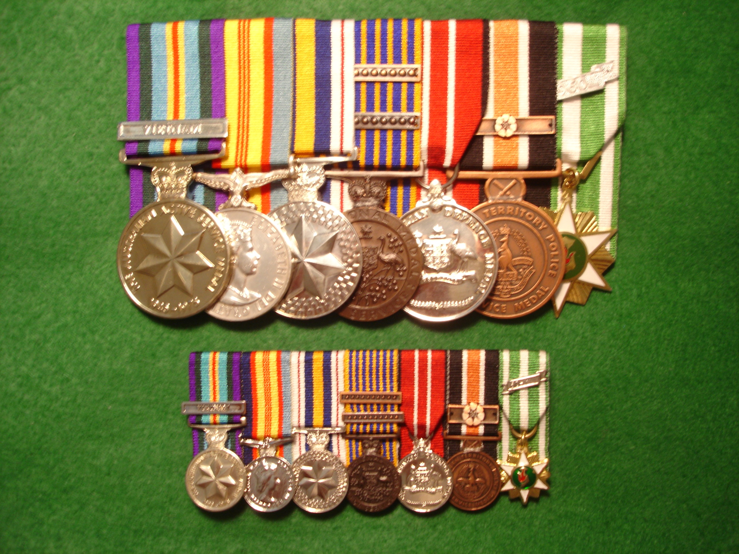 McNamee Medals and Badges